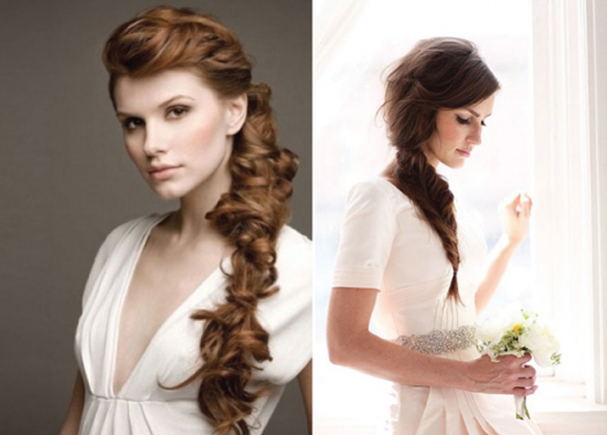 15 Wedding Hairstyles For Long Hair That Steal The Show: Penteados Para As Noivas