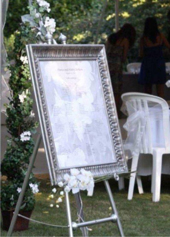 Reserva De Lugares No Casamento