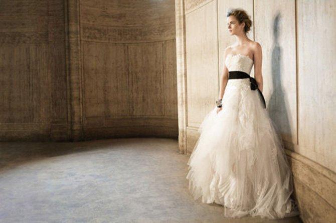 casamento-preto-e-branco-vestido-de-noiva-com-faixa-preta