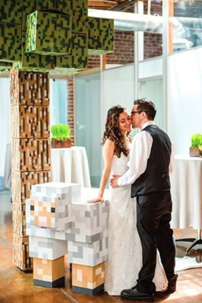 casamento-geek-decoracao-inspirada-no-minecraft-14