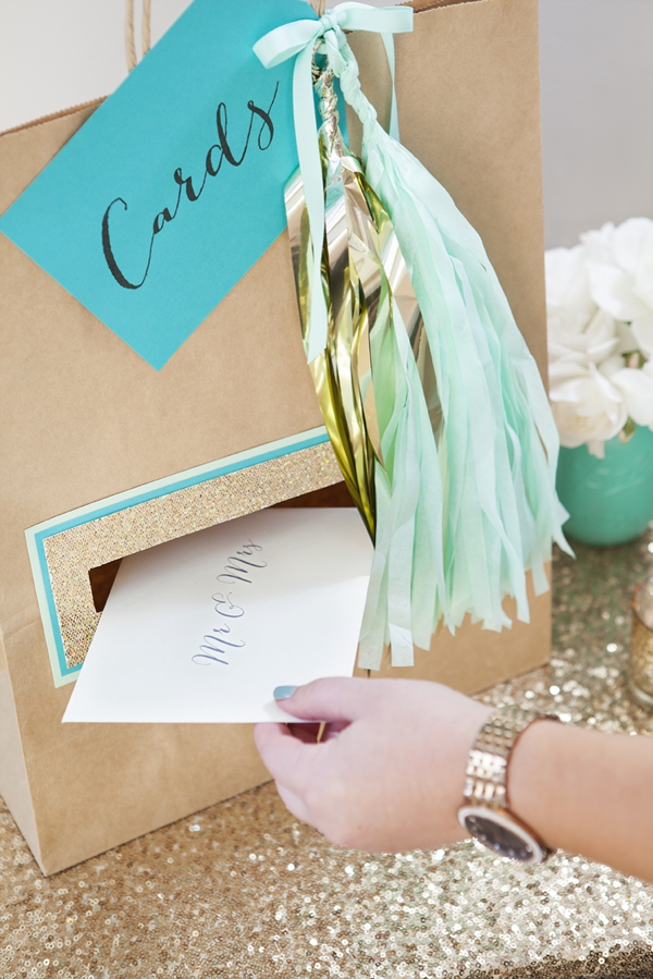 SomethingTurquoise_DIY_wedding_card_holder_gift_bag_0012